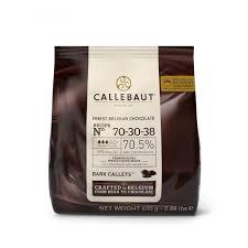 Chocolate amargo 70-30-38 Callebaut Moedas 400g