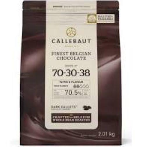 Chocolate amargo 70-30-38 Callets 2,01kg Callebaut