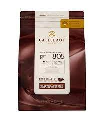 Chocolate amargo 805 Callebaut  50,7% Moedas 2,01KG
