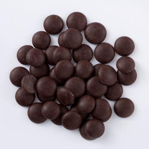 Chocolate amargo Moedas 54,5% 811 250g granel Callebaut