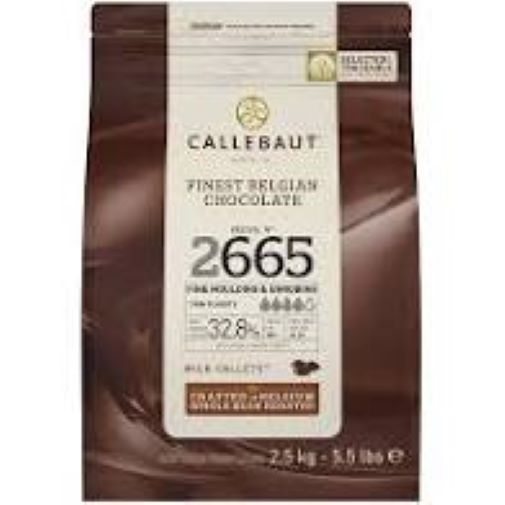 Chocolate ao leite 2665 32,8%   Moedas 2,5kg Callebaut