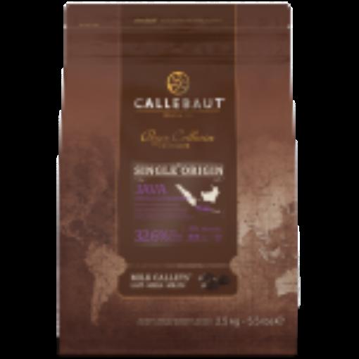 Chocolate ao leite 32,6% Origens Java 2,5kg Callebaut