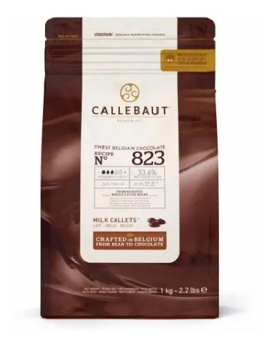 Chocolate ao leite Callebaut Moedas 33,6% 823 1kg