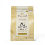 Chocolate branco Callebaut Moedas W2 28% 1kg