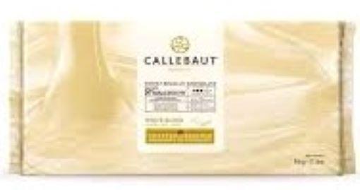 Chocolate branco sem açúcar 30,6% Malchoc Barra 5kg Callebaut