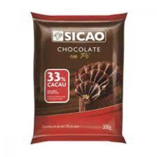 Chocolate em pó 33%  Pó 300g Sicao