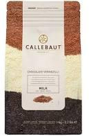 Chocolate Vermicelli ao leite Callebaut granulado MILK 1KG