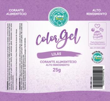 CM-308 / Corante: Color Gel 25g - Lilas