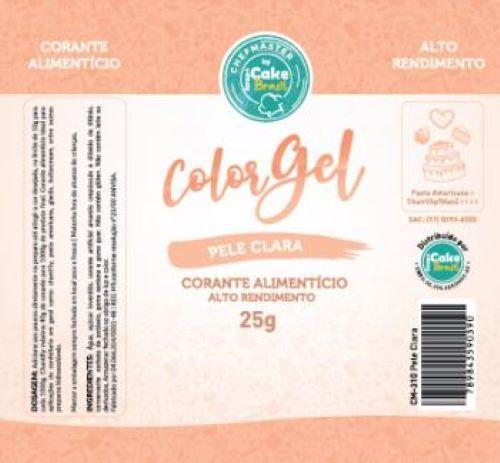 CM-310 / Corante: Color Gel 25g - Pele Clara