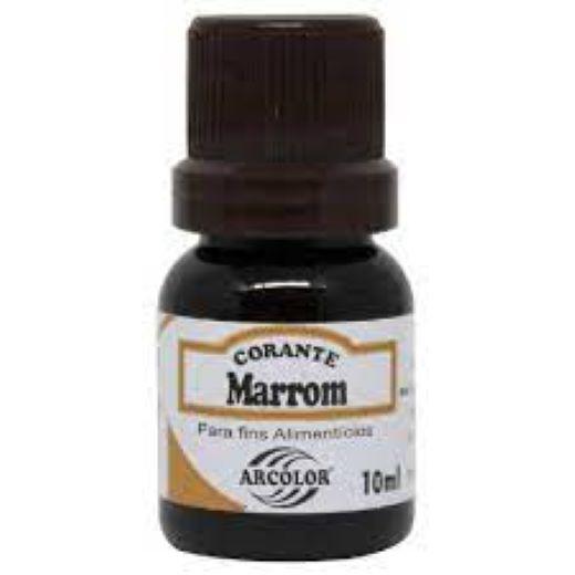Corante Líquido Marrom -10ML - Arcolor