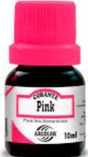 Corante Líquido Pink -10ML - Arcolor