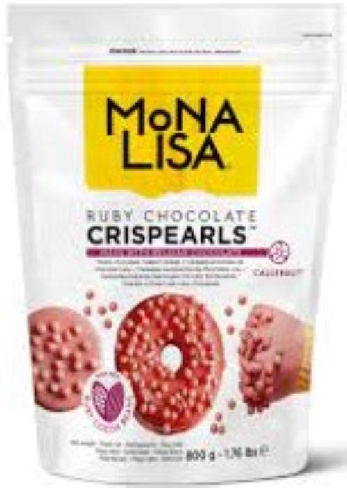 Crispearls  chocolate Ruby Monalisa  0,8kg Callebaut