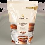 Crispearls cobertos com chocolate ao leite Callebaut 0,8KG
