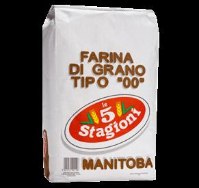 Farinha 00 Manitoba  LE 5 STAGIONI 10KG