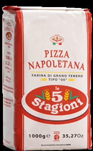 Farinha 00 Napoletana 25kg Le 5 Stagioni
