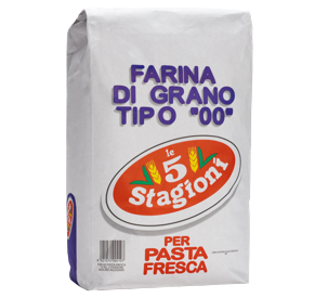 FARINHA 00 Pasta Fresca  LE 5 STAGIONI 25KG