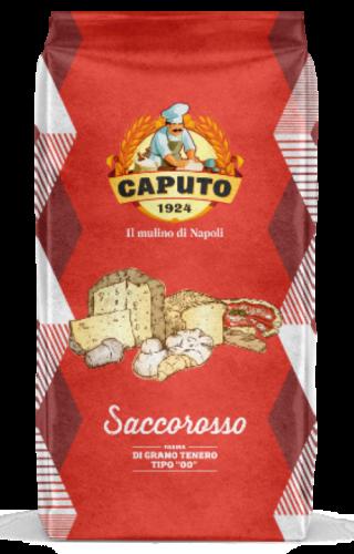Farinha 00  Saccorosso ( W300-320 rotepina 13%) 25kg Caputo