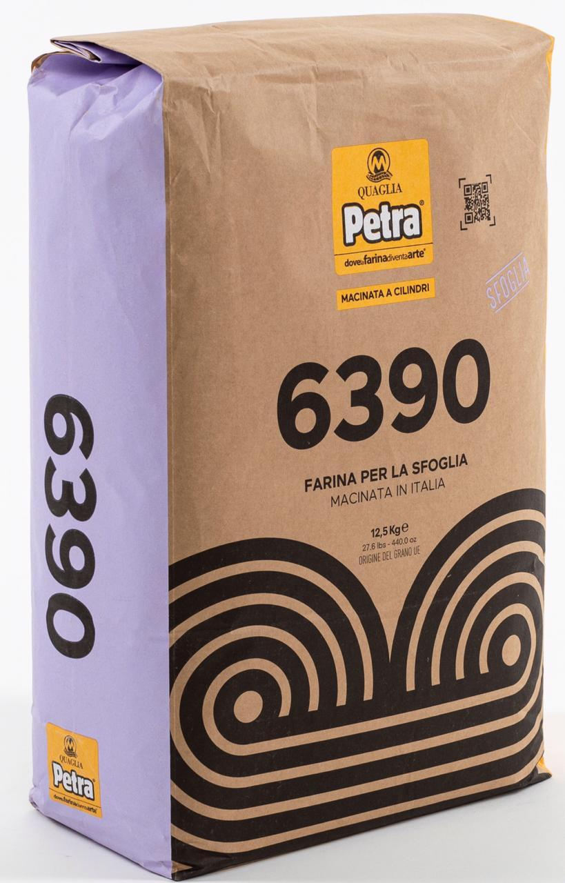 Farinha 00 Sfoglia 6390 W330-350 a granel 1kg Petra