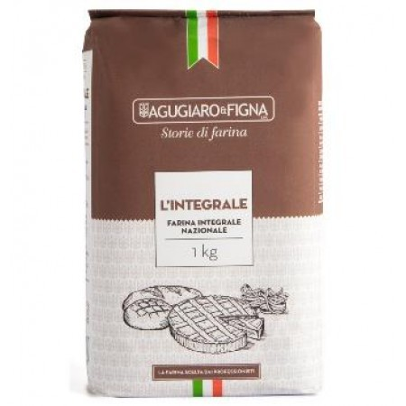 Farinha de Trigo integral Agugiaro & Figna 1kg