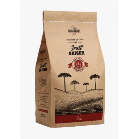 Farinha de trigo Irati branca Tipo 1 1kg