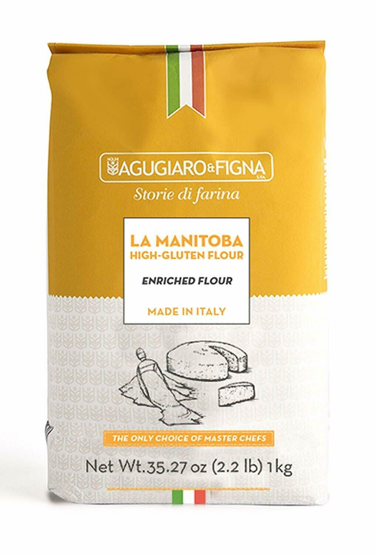 Farinha de Trigo manitoba Agugiaro & Figna 1kg