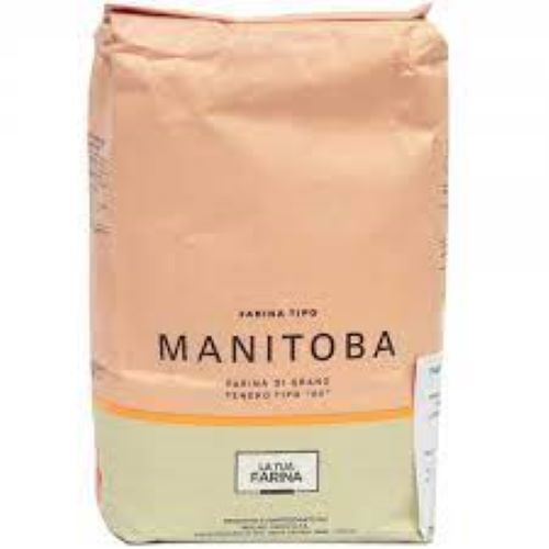 Farinha de trigo  Tipo 1 Manitoba W440-470 25kg - Pasini