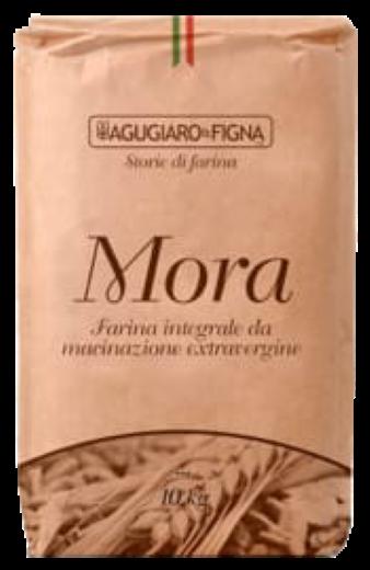 Farinha Integral Mora W400 10kg Le 5 Stagioni