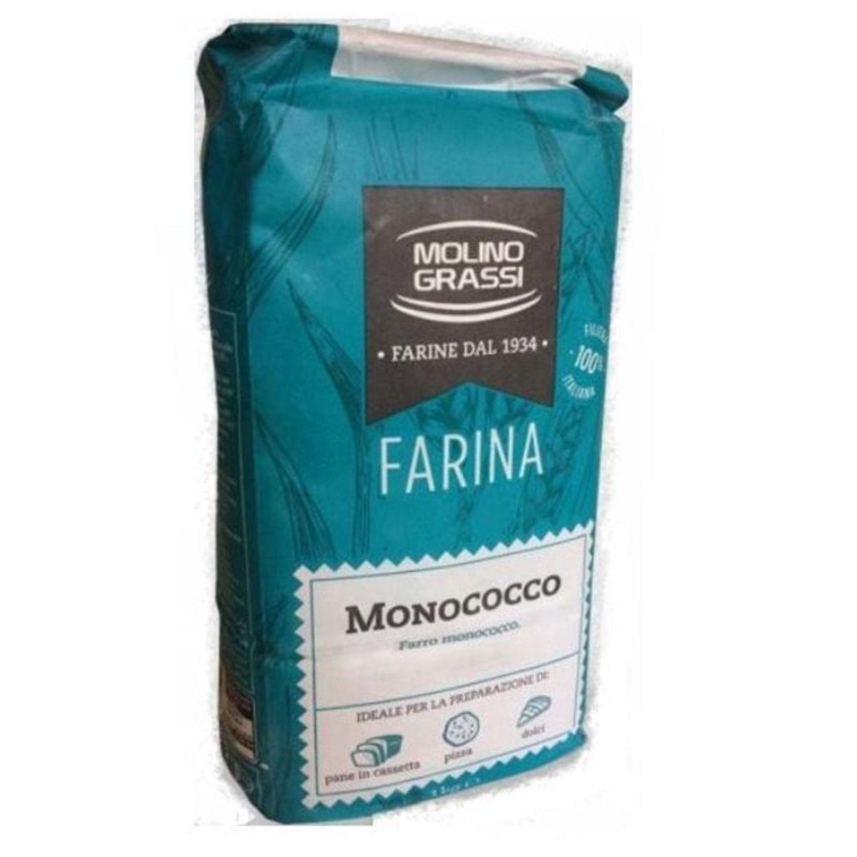 Farinha Monococco ( Einkorn ) 1kg Molino Grassi