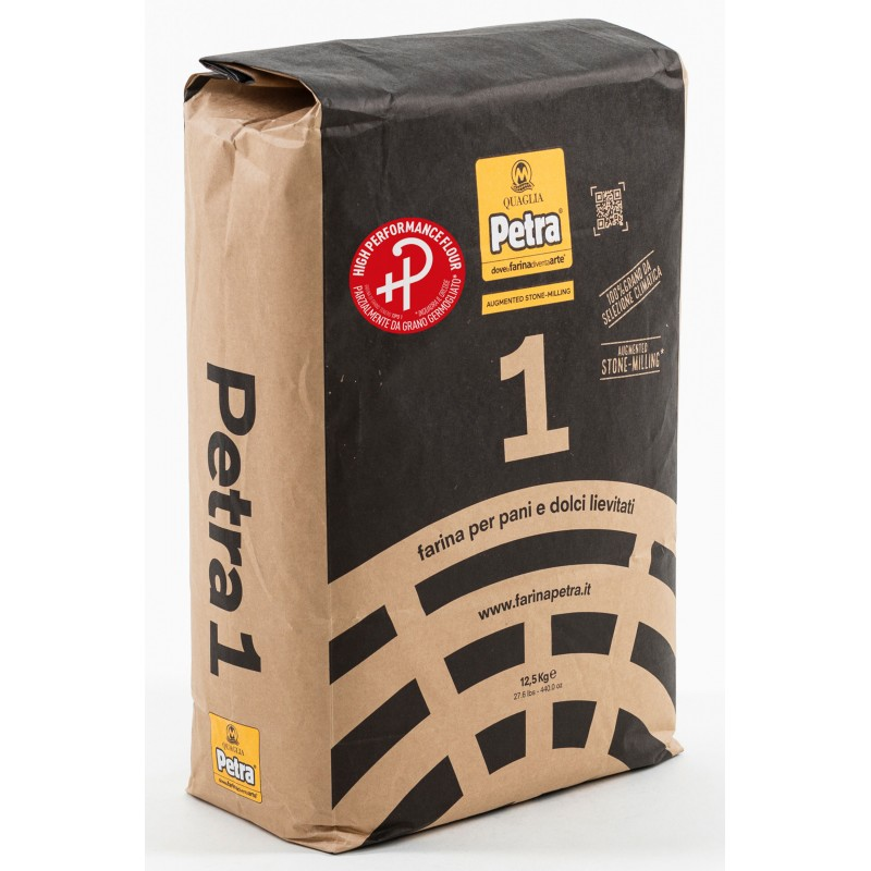 Farinha Orgânica  Petra 1 HIGH PERFORMANCE  saco 1kg a granel