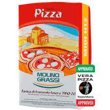 Farinha pizza midi H12 Flour  W290 25KG - Molino Grassi