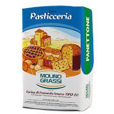 Farinha Tipo 00 Panettone  15kg Molino Grassi