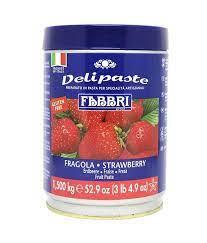 Fragola Ca (Pasta de Morango) - 1,5kg - Fabbri