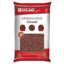 Granulado sabor chocolate Sicao Granulado 1,01KG