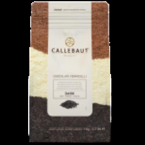 Granulado Vermicellis de chocolate meio amargo 1kg Callebaut