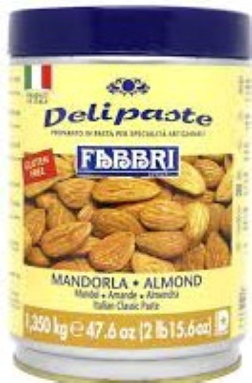 Mandrola ( Pasta de amendoa )  Delipaste 1,35kg  Fabbri