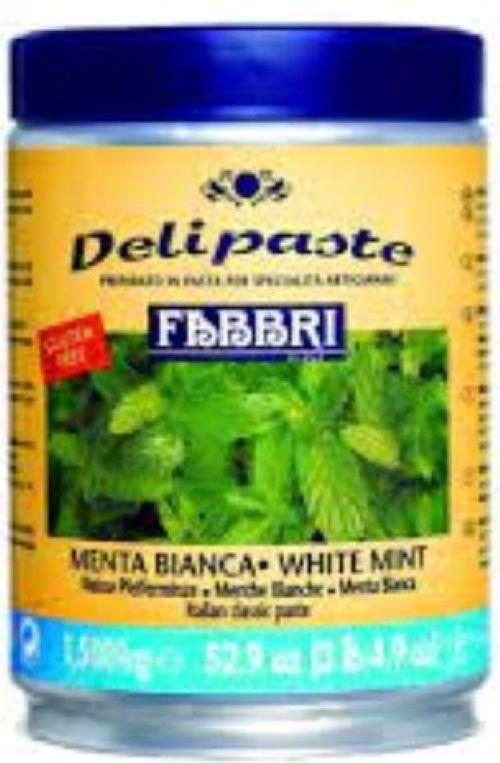 Menta (Pasta de menta) Delipaste 1,5kg Fabbri