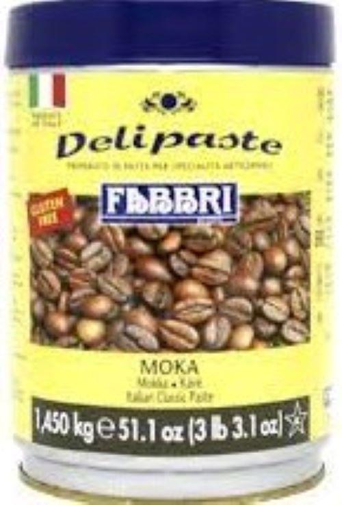 Moka (Pasta de Café) Delipaste 1,35kg Fabbri
