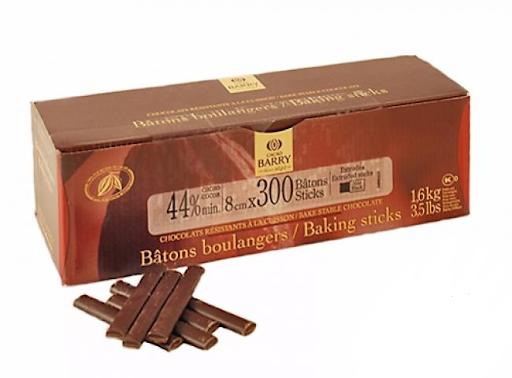 Palitos forneáveis batons boulager Cacao Barry Sticks 1,6KG