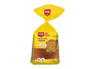 Pão de forma multigrãos sem glúten 200g