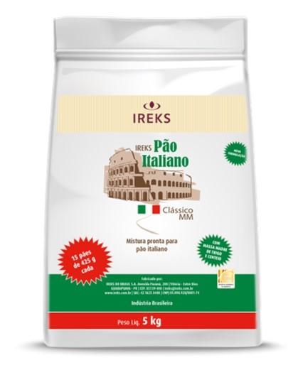 MISTURA PAO ITALIANO CLASSICO IREKS 5KG