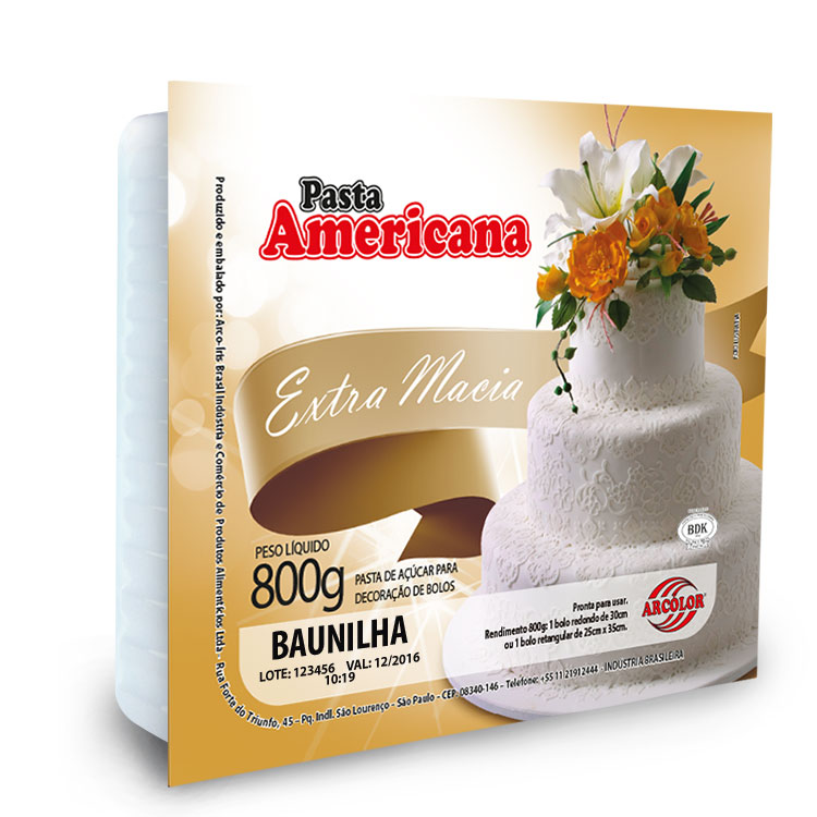 Pasta Americana ARCOLOR- 800G.