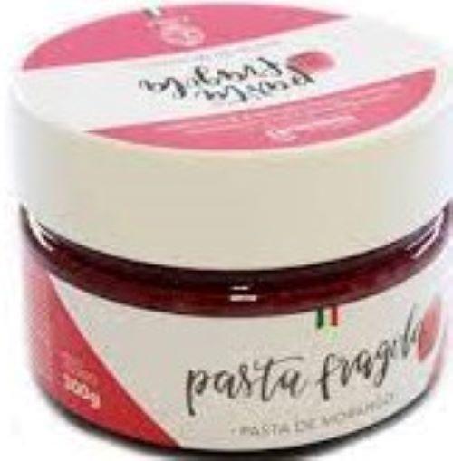 Pasta Fragola - Morango 300g Maestro Unika