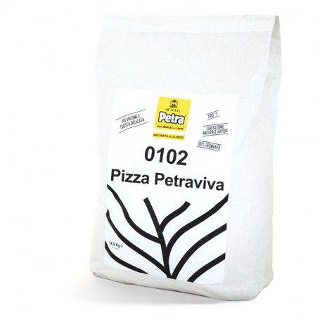 Petraviva Pizza 0102 com 30% de gérmen de trigo estabilizado a granel 1KG