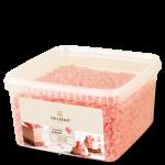 Raspas de chocolate de morango Callebaut blossoms 1KG