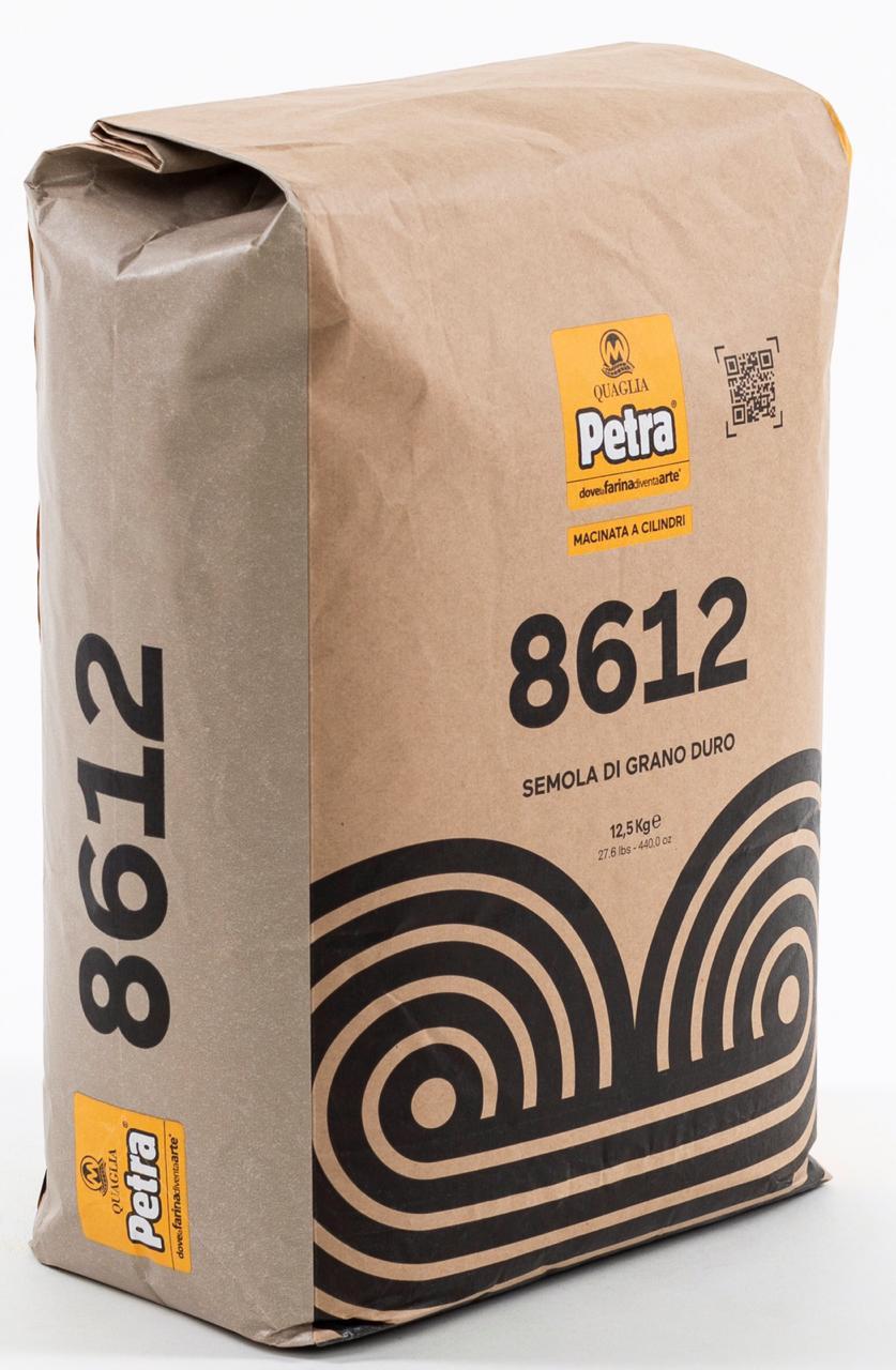 Semola Grano duro 8612 12,5kg Petra