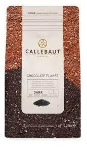 Split amargo 4D Callebaut flakes granulado DARK 1kg