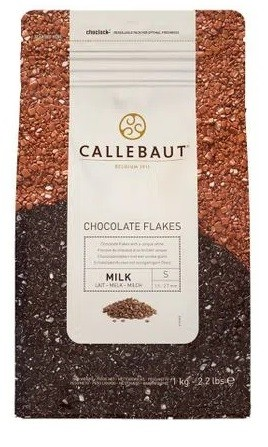 Split ao leite 4M Callebaut flakes granulado MILK 1kg