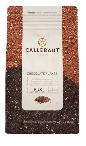 Split ao leite 9M Callebaut  Flakes granulado MILK 1kg