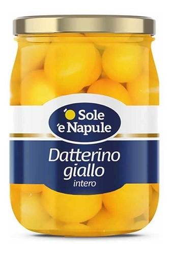 Tomate Amarelo Datterino Inteiro Giallo  360g