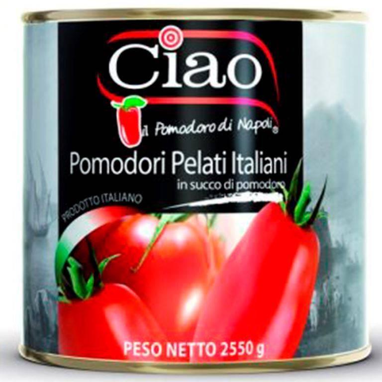 Tomate pelado italiano 2,5kg Ciao